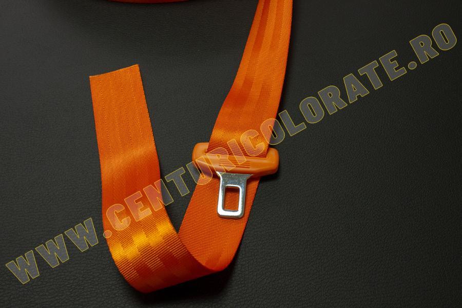 Centura siguranta portocalie Citroen Ds